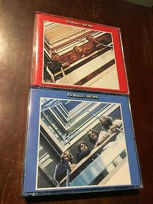 (20) CD LOT The Beatles 1962-1966 & 1967-1970 Greatest Hits Red & Blue (4 discs)