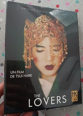 dvd collector the lovers neuf sous blister edition française tsui hark Neuf