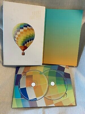 BTS Special Album Young Forever Day Version 2CD Photobook Folded Poster SET!