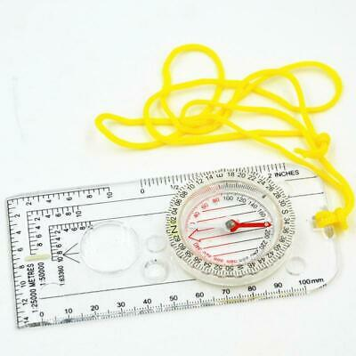 Professional Portable Handheld Map Drawing Scale Compass Survival Tool DC40-2