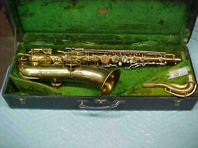 Antique York & Sons Tenor Saxophone in Good Ready to Play.