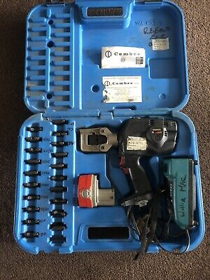 Battery operated hydraulic crimping tool CEMBRE