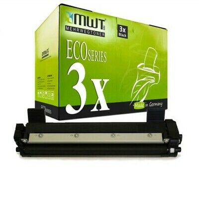 3x MWT Eco Cartuccia Compatibile per Brother MFC-1810 HL-1211-W MFC-1911-NW