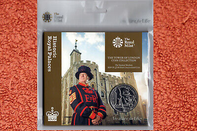 The Yeoman Warders 2019 UK Royal Mint £5 Brilliant Uncirculated Coin Pack
