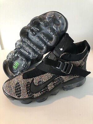 New 2018 Nike Air Vapormax Premier Flyknit Size 9 Black Multicolor AO3241-003