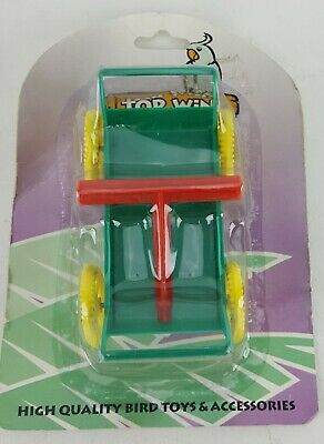 "Wagon Bird Toy Pull Toy Top Wing 4"" Long"