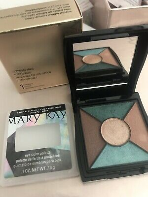 mary kay eye shadow Palette With New Compact - Limited Edition- Emerald Noir