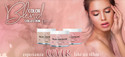 Glam And Glits Ombre Acrylique Marbre Ongle Poudre Blend 59ml - Collection Vol.2