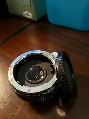 Camera Lens Super ALBINAR Auto Tele Converter 2X Made in Japan
