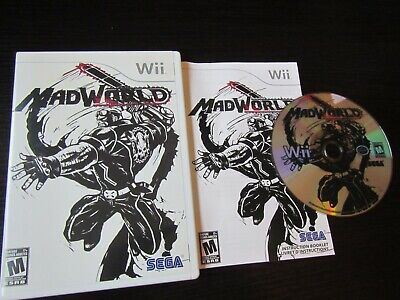 Nintendo Wii: Mad World complete in case and tested!