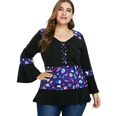 Plus Size Criss Cross Ruffle Hem T-shirt