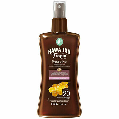 Hawaiian Tropic Protective Dry Spray Oil SPF 20 Coco Y Guayaba 200 ml