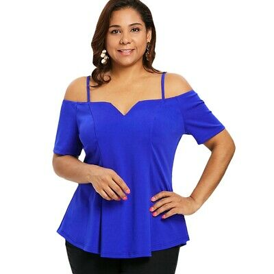 Plus Size Short Sleeve Cami T-shirt