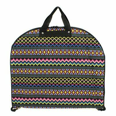 New Hanging Garment Bag Luggage Travel Cheer Aztec Tote Suit Print Canvas Dance