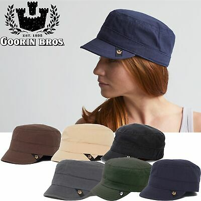 Goorin Brothers Cadet Hat Cap Private Military Fashion Casual Vintage Cotton