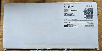 Stryker 233-050-065 Fiber Optic Cable  5.0mm x 10 ft/3.05m