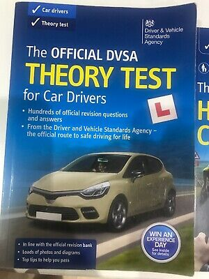 Theory Test Car Drivers Book for 2019 Official DVSA Driving Tests*ThryBk