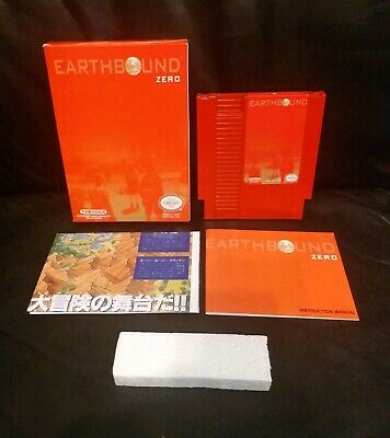 Earthbound Zero Reproduction of Mother By TimeWalk Games (Nintendo)