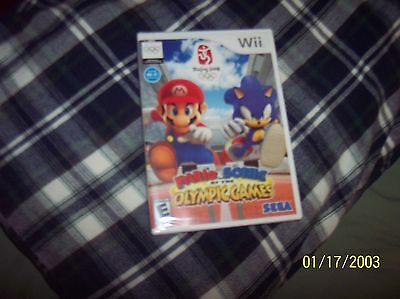 Mario & Sonic At The Olympics; Bejing 2008 Classic, Vintage Game - New