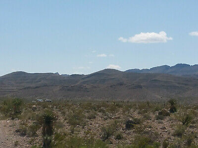 Texas land 100+ Acres-1 hour El Paso -AT  BASE OF MOUNTAINS, good road access.