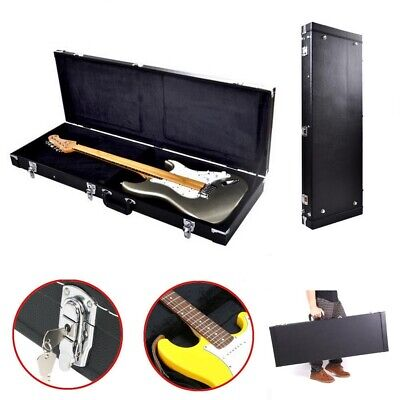 af985af53d3 42'' Inch Universal Electric Bass Guitar Hard-Shell Case Full Neck Support  Case