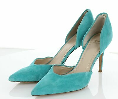 Marc Fisher New Tammy Blue Womens Shoes Size 5 M Heels MSRP $160