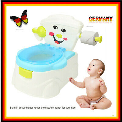 Toilettentrainer Kinder WC Toilettensitz Baby Potty Lerntöpfchen Toilette Safe G