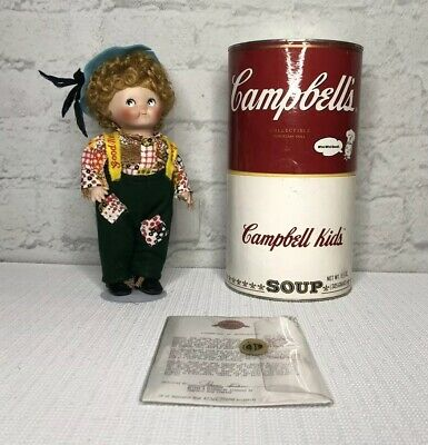 Campbell Soup Kids Doll With Can Box