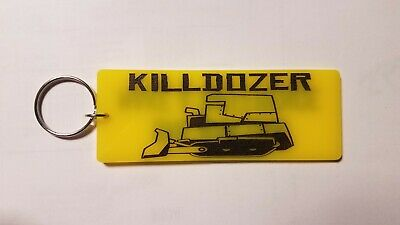 Killdozer inspired keychain key chain