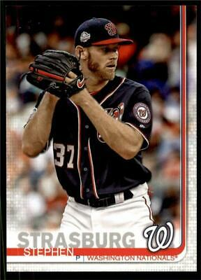 2019 Topps Series 2 Base #356 Stephen Strasburg