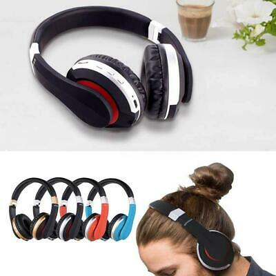 Wireless 3D Headphones Bluetooth 5.0 Headset Noise Cancelling Over Ear