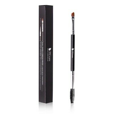 Dual Ended Eyebrow Angled Spoolie Brush Makeup Brushes Shaping Defining Eyebrows