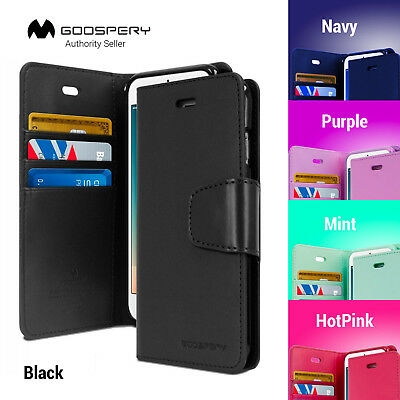 For iPhone X XR xs Max 7 8 6 Plus Leather Wallet CASE MERCURY SONATA DIARY Cover