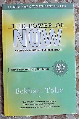 The Power of NOW... A Guide to spiritual enlightenment ECKHART TOLLE  self help