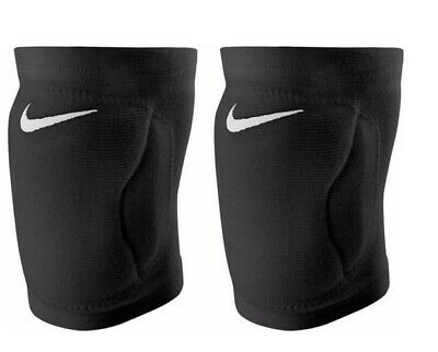 New! Nike Swoosh Unisex Streak Volleyball Knee Pads Assorted Sizes Black