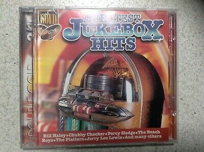 Greatest Jukebox Hits Double CD Bill Haley , The Beach Boys , The Platters