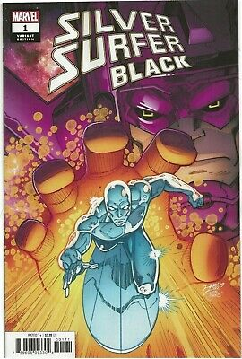 Silver Surfer Black 1 Donny Cates First Print Ron Lim Variant Near Mint