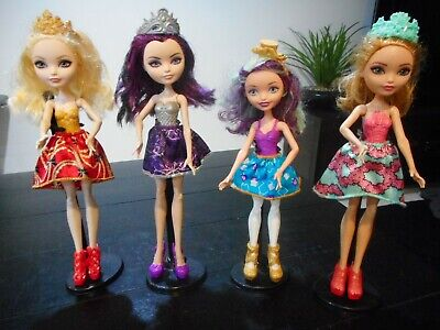 Ever After High Friends Ever After Dolls - 4 Pack-RARE