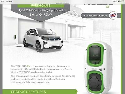 Rolec EVWP2020 Car Charger