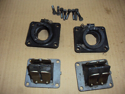 Yamaha Rd250 Rz250 Rd350  Lc Carb Inlet Rubbers And Reed Blocks  4L3