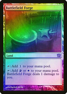 English Magic 2015 MTG Magic Foil NM-Mint 1x Battlefield Forge