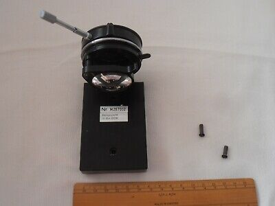 Carl Zeiss Microscope Condenser and Holder - CZ Si10