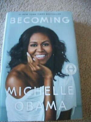 Becoming by Michelle Obama Biography Hardback Book