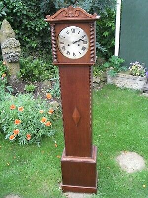 Antique Victorian Grandmother clock superb condition, working, serviced.