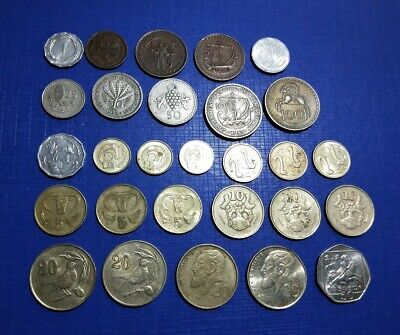 Cyprus huge lot of 28 different coin types Mils & Cents