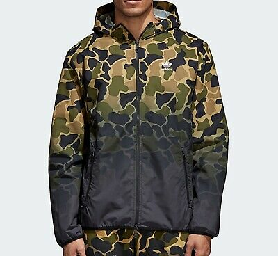 ADIDAS ORIGINALS CAMO Camouflage Windbreaker mens Jacket