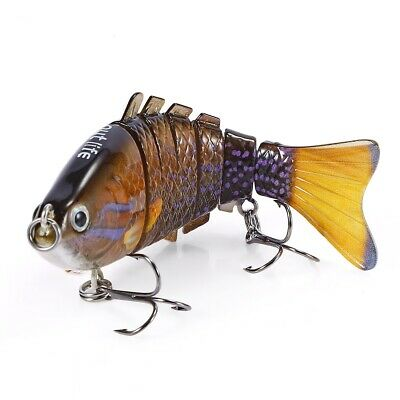 Outlife 7-segment Swimbait Crankbait Fishing Artificial Bait