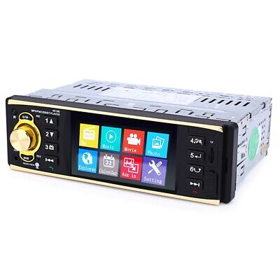 4019B 4.1 inch Vehicle-mounted MP5 Player Stereo Audio Car Video USB AUX FM