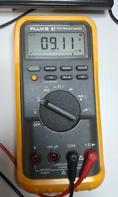 Fluke 87 TRMS DMM with TL-75 leads