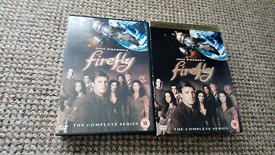 Firefly - The Complete Series Special Edition (DVD, 2004, 4-Disc Set, Box Set)